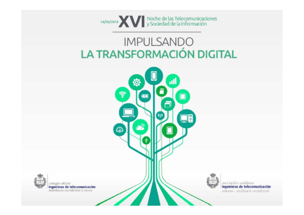 Portada xvi noche telecomunicaciones transformacion digital